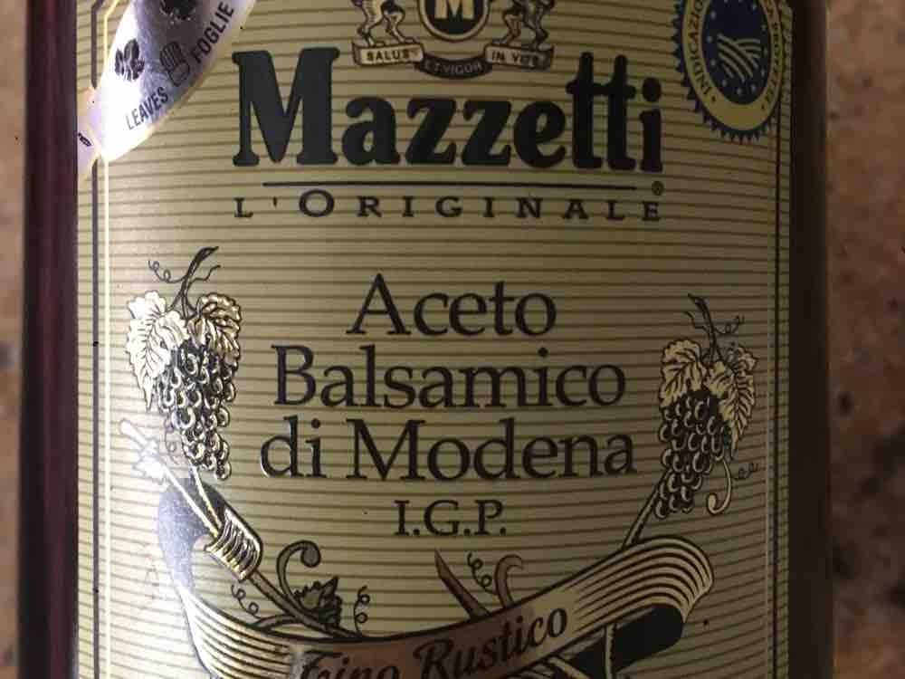 Aceto Balsamico di Modena I.G.P Mazzetti von playloud308308   Hochgeladen von: playloud308308