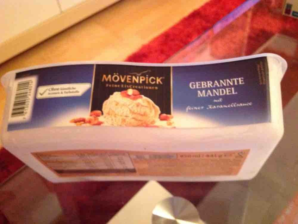 Gebrannte Mandeln Eis von schokilala   Hochgeladen von: schokilala