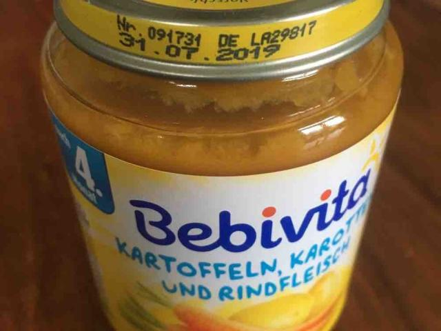 Babybrei, Kartoffeln, Karotten und Rindfleisch  von gwendolina1805   Hochgeladen von: gwendolina1805