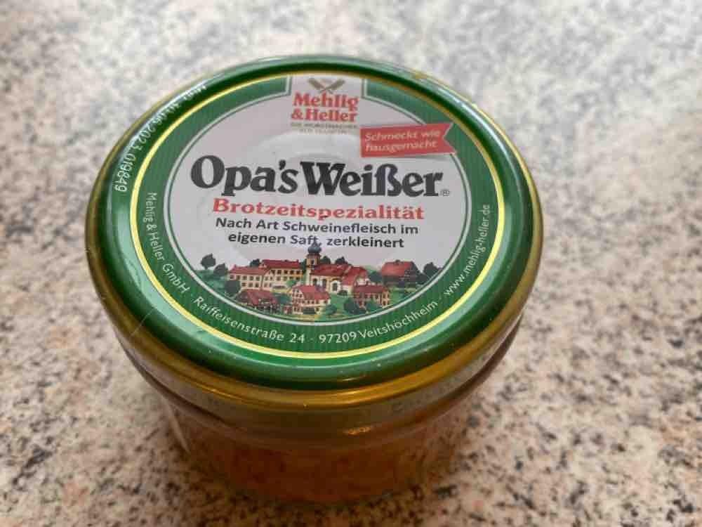 Opas Weißer, Wurst von SGiersch | Hochgeladen von: SGiersch