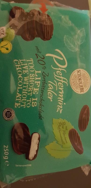 Pfefferminztaler, überzogen mit Zartbitterschokolade von Atouraya6732 | Hochgeladen von: Atouraya6732