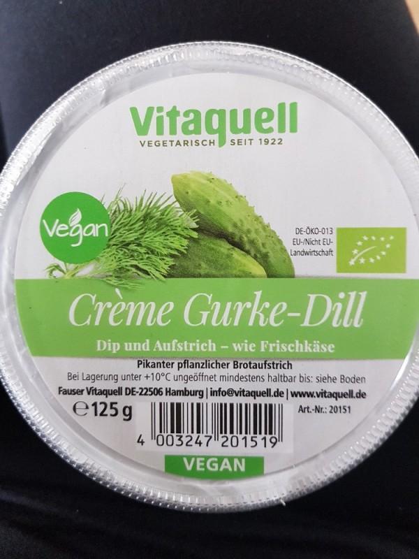 Creme Gurke-Dill, Dip und Aufstrich - wie Frischkäse von Steffi1987   Hochgeladen von: Steffi1987