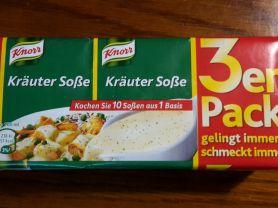 Knorr Kräuter Soße | Hochgeladen von: mmman64