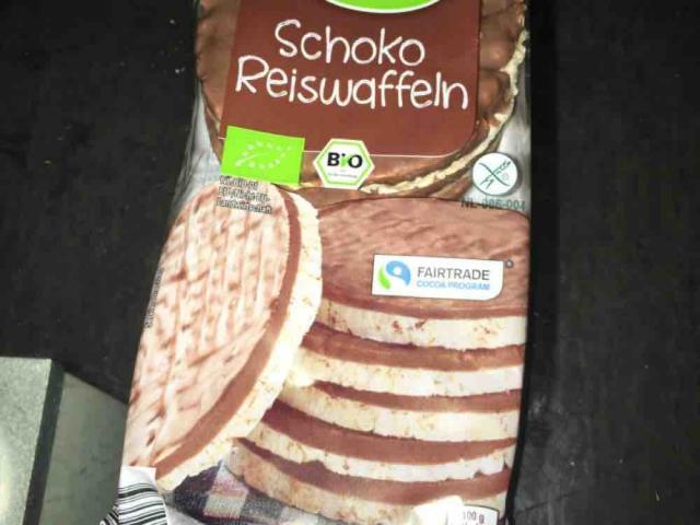 Schoko Reiswaffeln, Vollmilch von Stephan1986   Hochgeladen von: Stephan1986