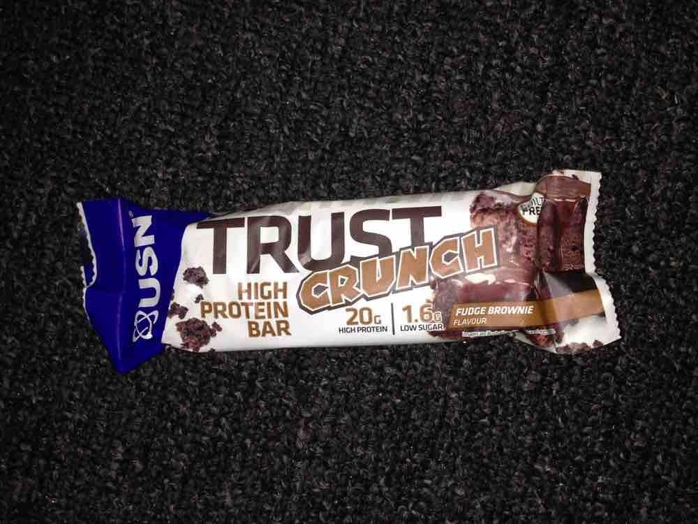 Trust Crunch Fudge Brownie von Eva Schokolade   Hochgeladen von: Eva Schokolade
