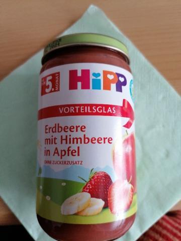 Erdbeere mit Himbeere in Apfel  von Melanie Mell | Hochgeladen von: Melanie Mell