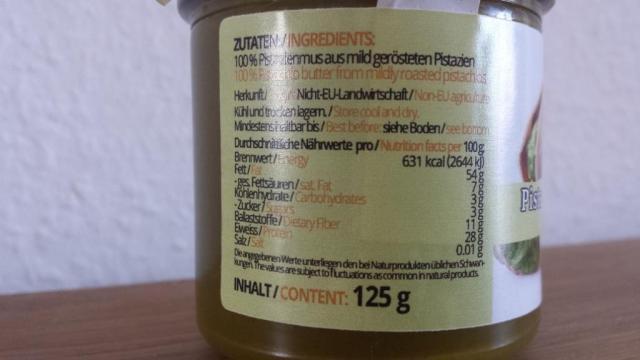 Pistazienmus Premium, Pistazienmus | Hochgeladen von: CoonieCat