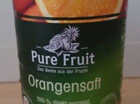 """Orangensaft """"Pure Fruit"""", Orange   Hochgeladen von: n811e"""