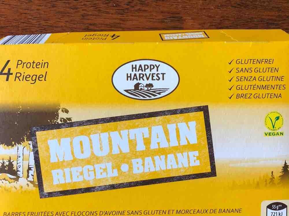 Happy Harvest Mountain Riegel Banane Kalorien Neue Produkte Fddb