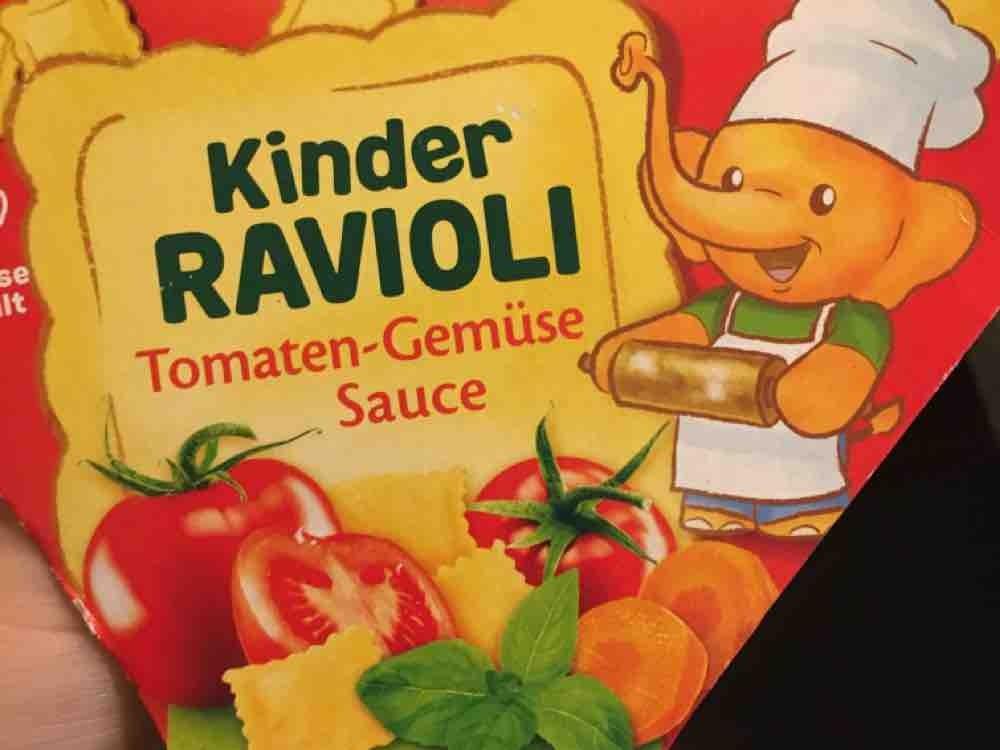 Kinder Ravioli, Tomaten-Gemüse Sauce von yvonnema   Hochgeladen von: yvonnema