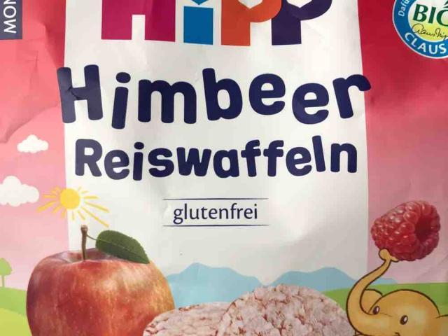 Hipp Reiswaffeln - Himbeere, Himbeer von christina2209 | Hochgeladen von: christina2209