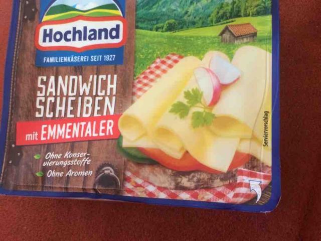 Sandwich Scheiben , mit Emmentaler  von hollus | Hochgeladen von: hollus