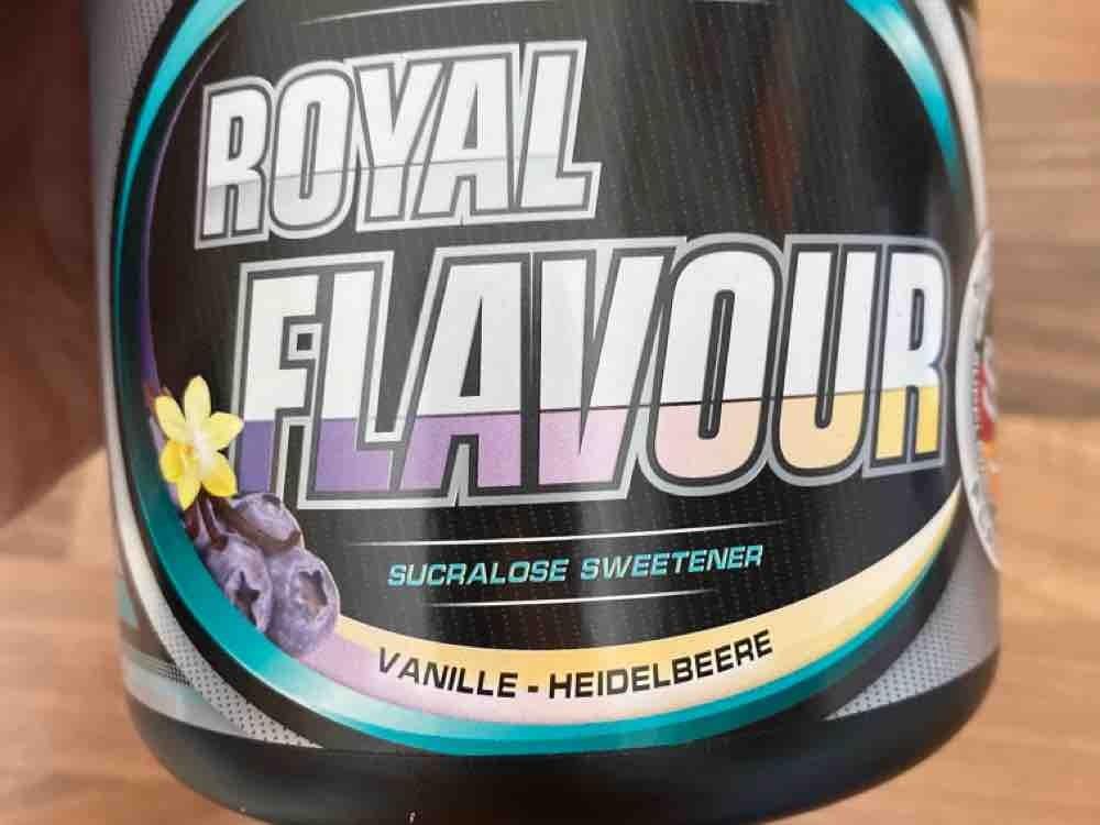 S.U. Royal Flavour System, Vanille-Heidelbeere von Francoeraclea   Hochgeladen von: Francoeraclea