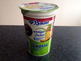 Der große Bauer Joghurt, Pfirsich-Maracuja, weniger Zucker | Hochgeladen von: xmellixx