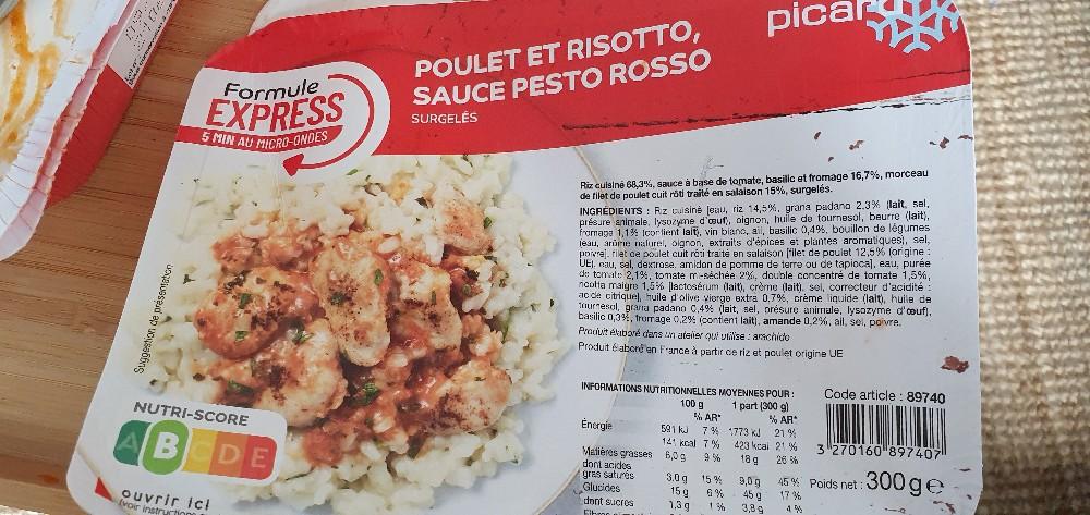 poulet et risotto sauce pesto  rosso von Patrick138 | Hochgeladen von: Patrick138