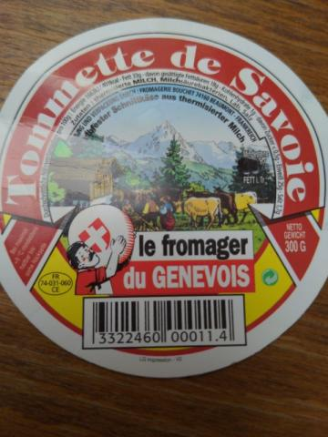 Tomette der Savoie, aus Thermodieter Milch von VolkerB   Hochgeladen von: VolkerB