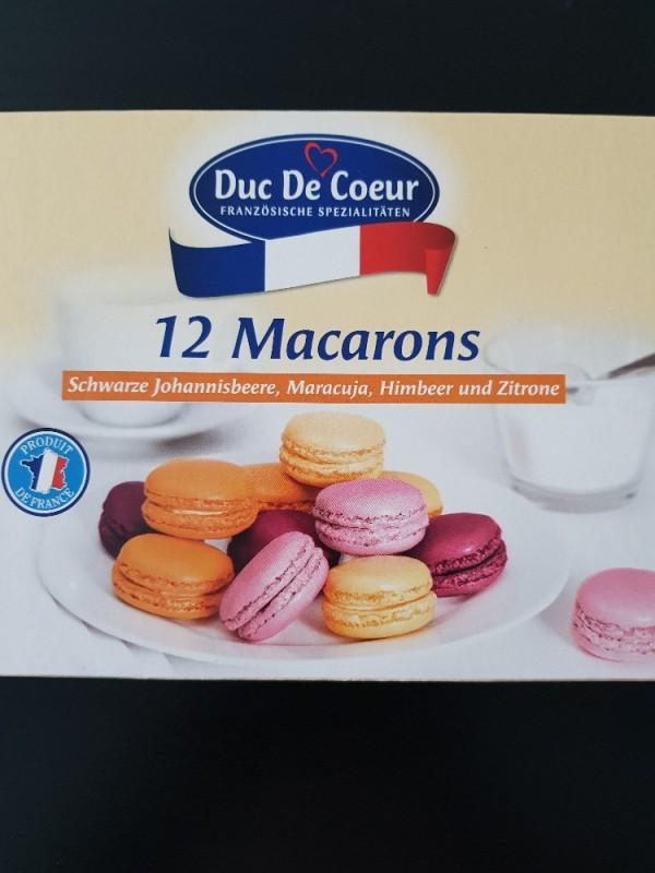 12 Macarons, Schwarze Johannisbeere, Maracuja, Himbeer und Zi von Kathiwf | Hochgeladen von: Kathiwf