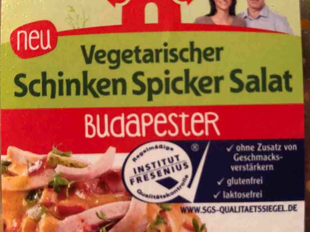 Vegetarischer Schinken Spicker Salat Budapester von Hauptfriese | Hochgeladen von: Hauptfriese