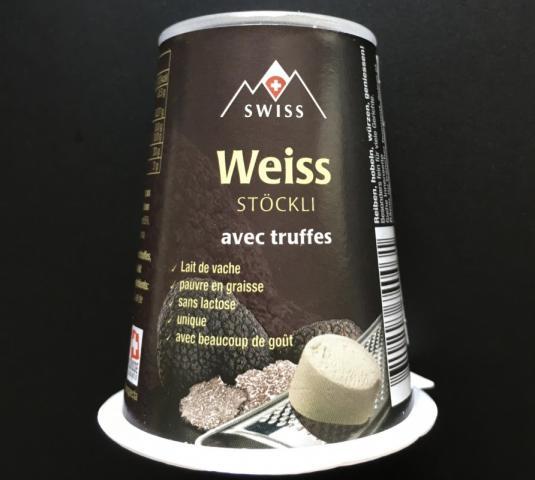 Weiss Stöckli, mit Trüffel   Hochgeladen von: Fonseca