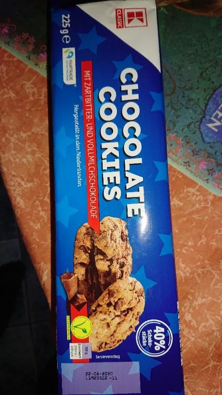 Chocolate Cookies, mit Zartbitter- und Vollmilchschokolade von BigDaddyHolger   Hochgeladen von: BigDaddyHolger