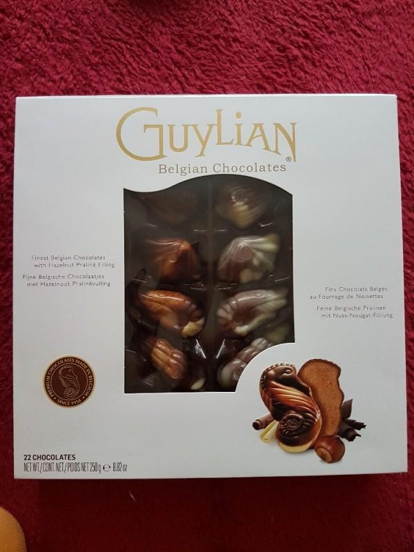 GuyLian Meeresfrüchte, Nuss-Nougat-Pralinen von cabanossi77   Hochgeladen von: cabanossi77