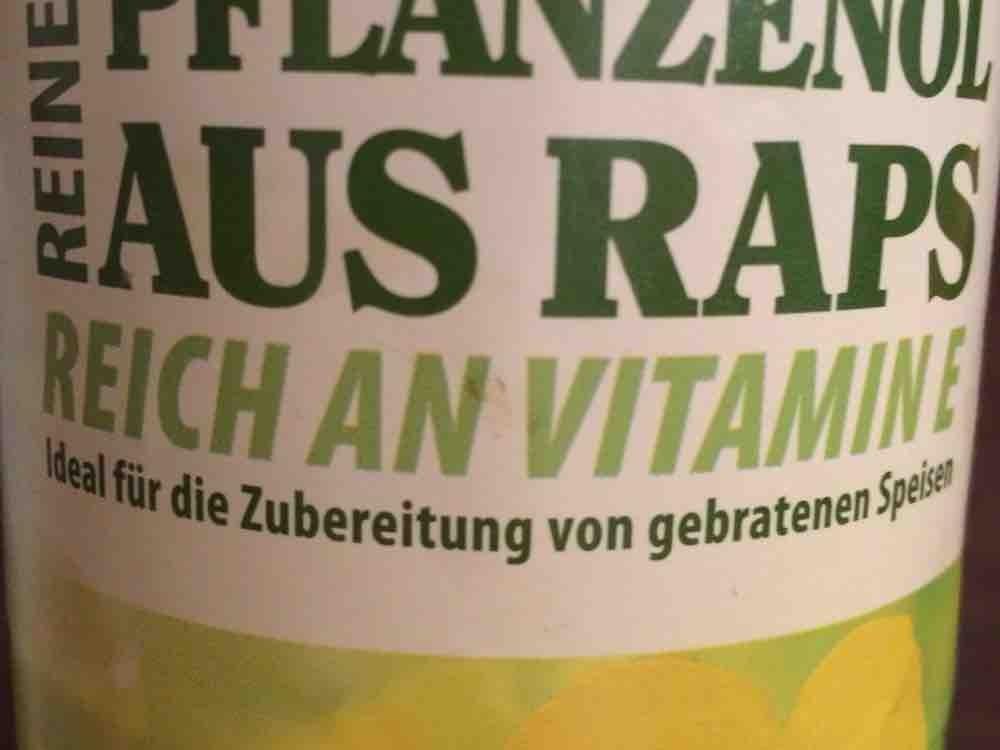 Reines Pflanzenöl aus Raps von Amana | Hochgeladen von: Amana