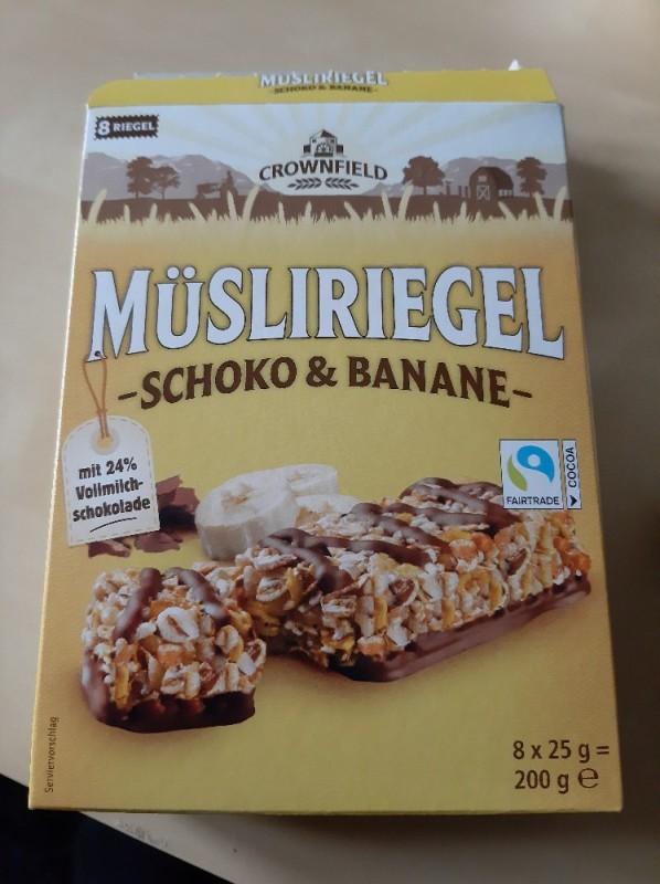 Müsliriegel Schoko & Banane, 25g ein Riegel von damianjeturoblack | Hochgeladen von: damianjeturoblack