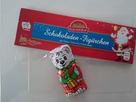 Schokoladen-Figürchen, aus feiner Vollmilch-Schokolade   Hochgeladen von: n811e
