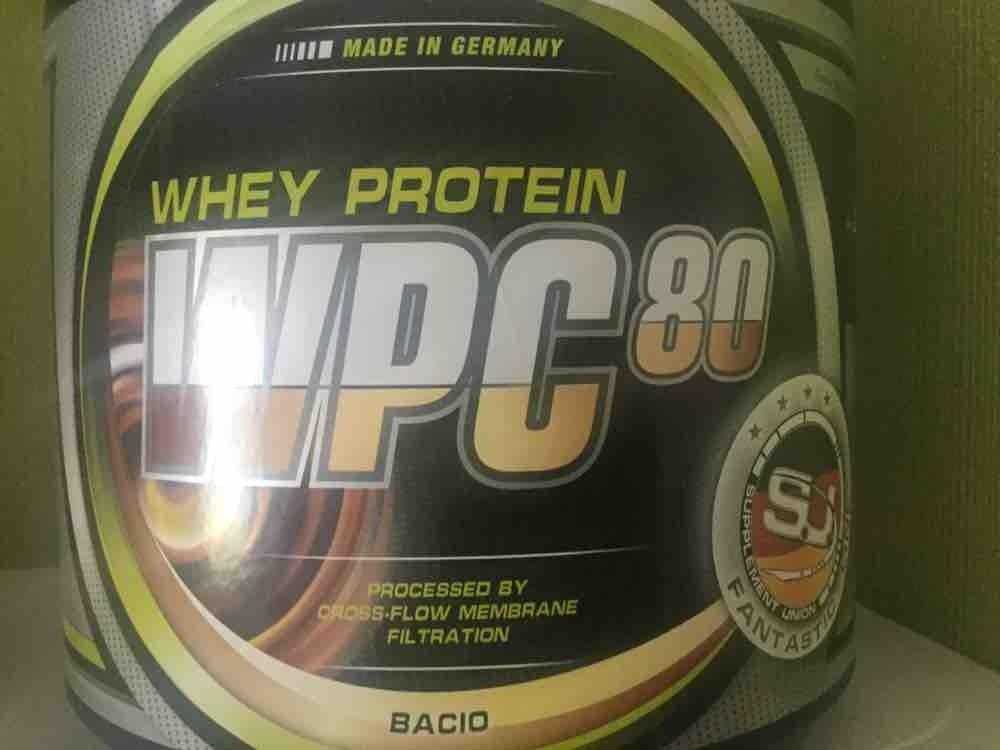 WPC 80 Bacio Geschmack Eiweispulver von Theko | Hochgeladen von: Theko