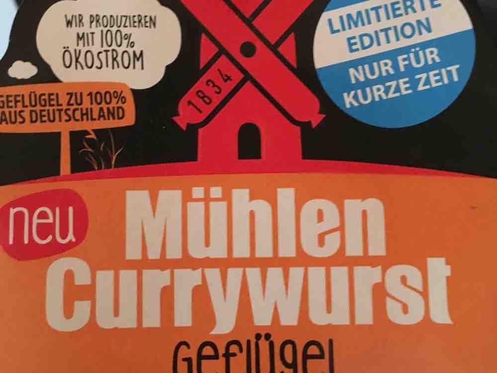 Mühlen Currywurst Geflügel, Curry von LittleRon   Hochgeladen von: LittleRon