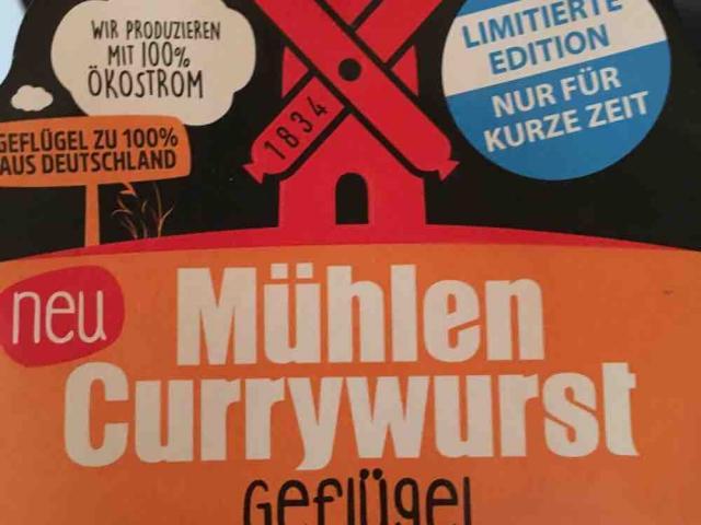 Mühlen Currywurst Geflügel, Curry von LittleRon | Hochgeladen von: LittleRon