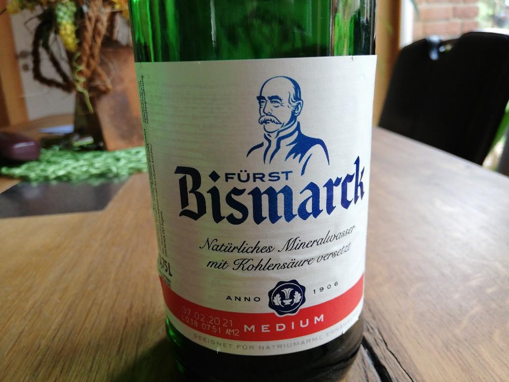 Fürst Bismarck Mineralwasser, wenig Kohlensäure von gruenspecht   Hochgeladen von: gruenspecht