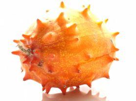 Horned melon, fresh | Uploaded by: JuliFisch