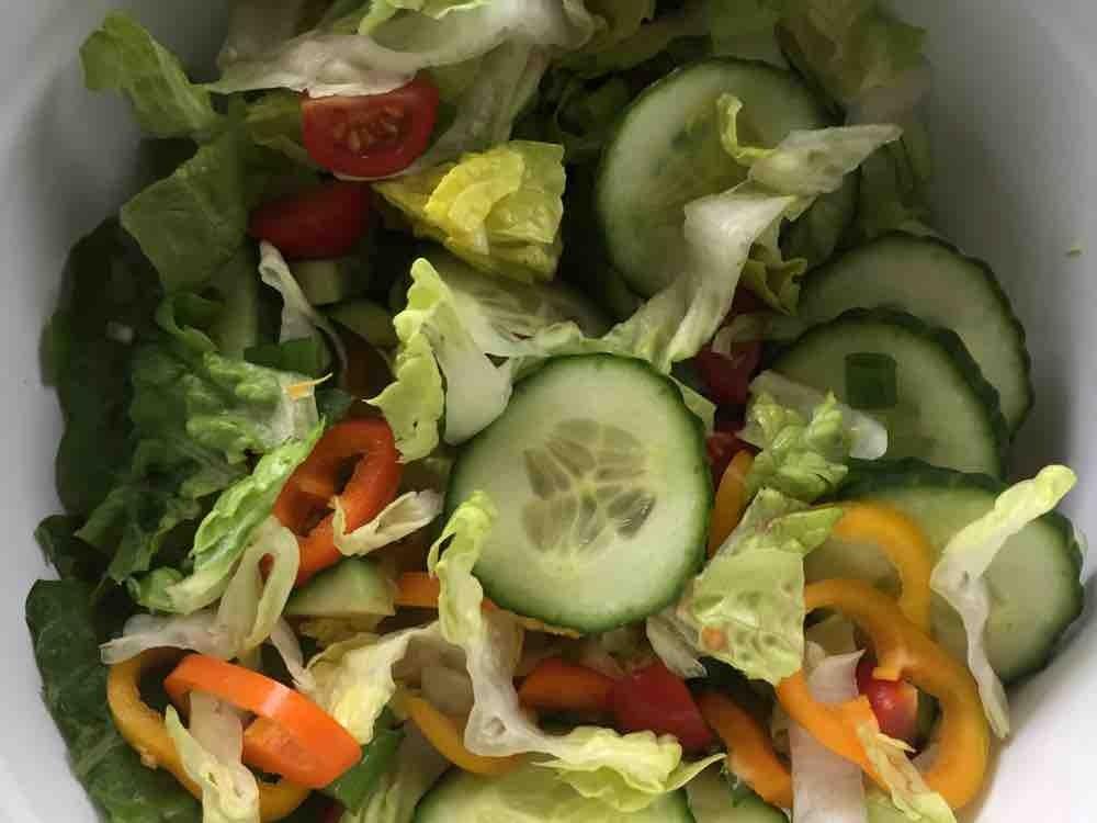 Selbst Gemacht Gemischter Salat Ohne Dressing Kalorien Salat Fddb