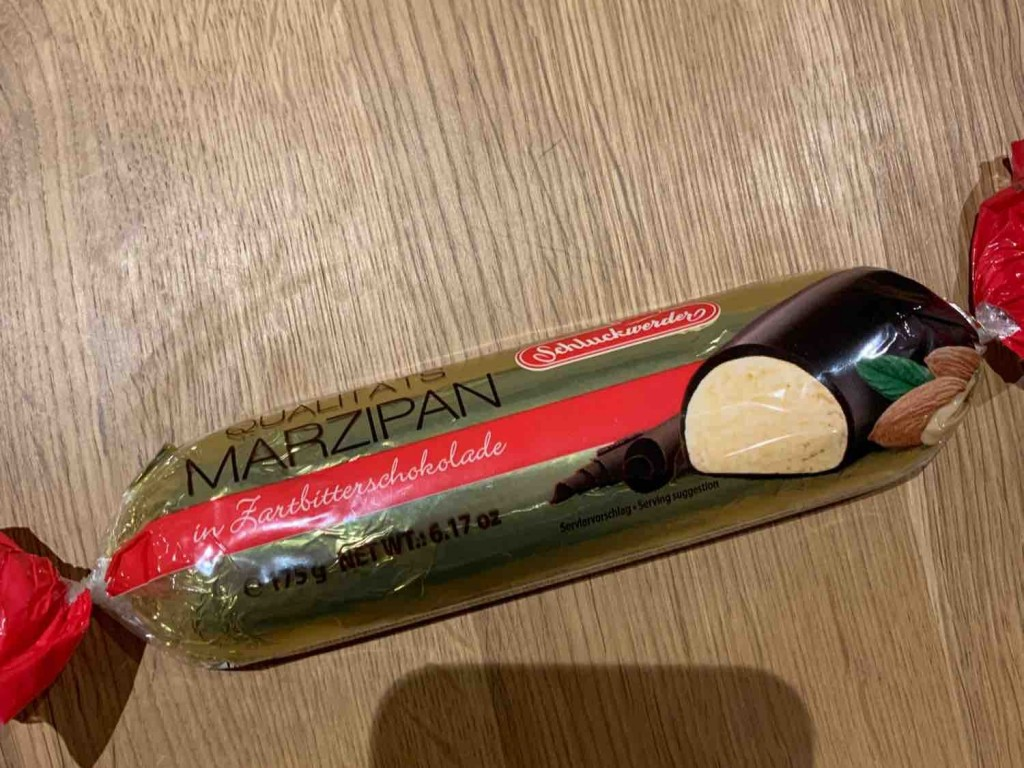 Marzipan, in Zartbitterschokolade von bansheesmoo   Hochgeladen von: bansheesmoo