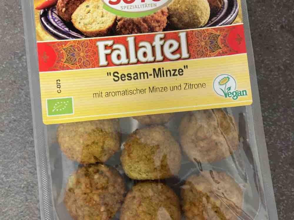 Falafel, Sesam-Minze von Huxlibuxli | Hochgeladen von: Huxlibuxli