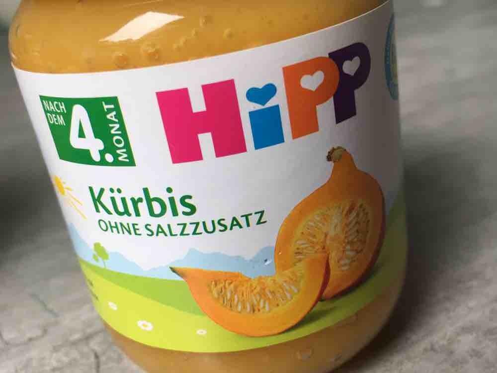 HIPP , Kürbis ohne Salzzusatz von cxine | Hochgeladen von: cxine