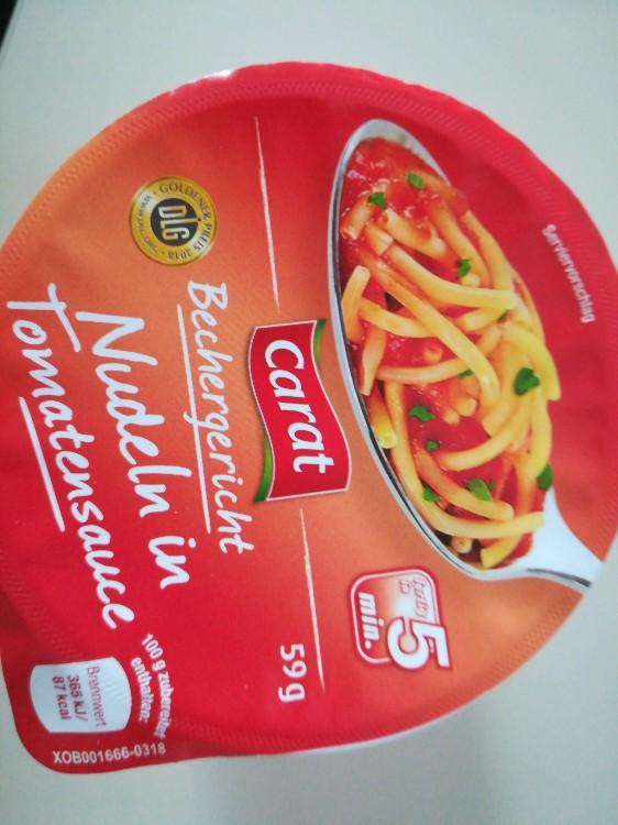 Nudeln in Tomatensauce von aliaspatricia   Hochgeladen von: aliaspatricia