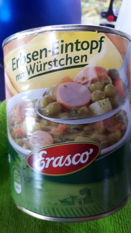 1 Portion Erbsen-Eintopf mit Würstchen  von becka   Hochgeladen von: becka