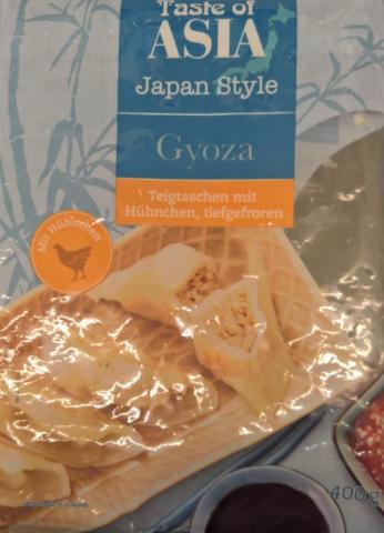 Gyoza, Teigtaschen mit Hühnchen | Hochgeladen von: wertzui
