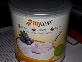 myLine Eiweißpulver, Waldfrucht-Joghurt   Hochgeladen von: Michael175