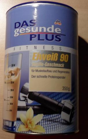 Das gesunde Plus - Eiweiß 90, Vanille | Hochgeladen von: Rima