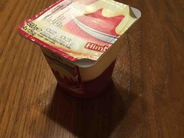 Doppeldecker, Himbeerpudding mit Vanillesoße von RoBo39   Hochgeladen von: RoBo39