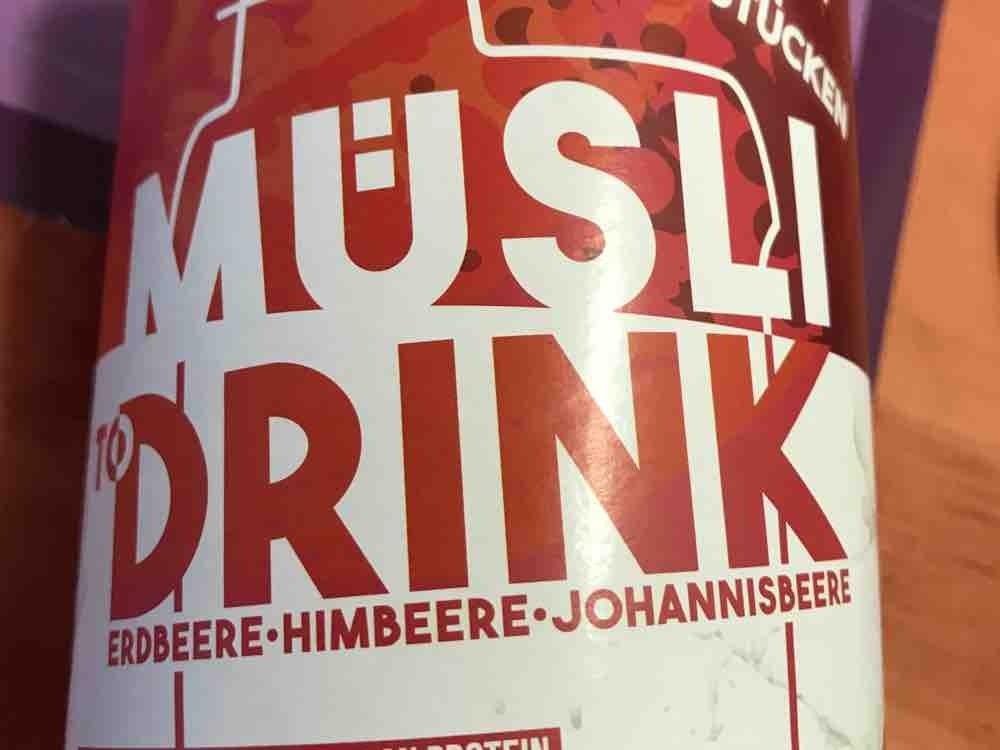 Müsli To Drink Erdbeere Himbeere Johannisbeere von Soil3 | Hochgeladen von: Soil3