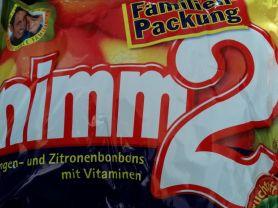 Storck Nimm2 Bonbons, Zitrone und Orange   Hochgeladen von: Heike1207