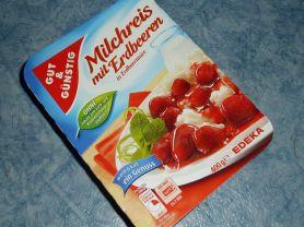 Milchreis und Erdbeeren, mit fruchtiger Sauce   Hochgeladen von: walker59