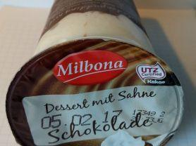 Schokoladenpudding mit sahne   Hochgeladen von: Bellis