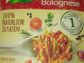 natürlich lecker Spaghetti Bolognese (Trockenprodukt) | Hochgeladen von: HansHorst