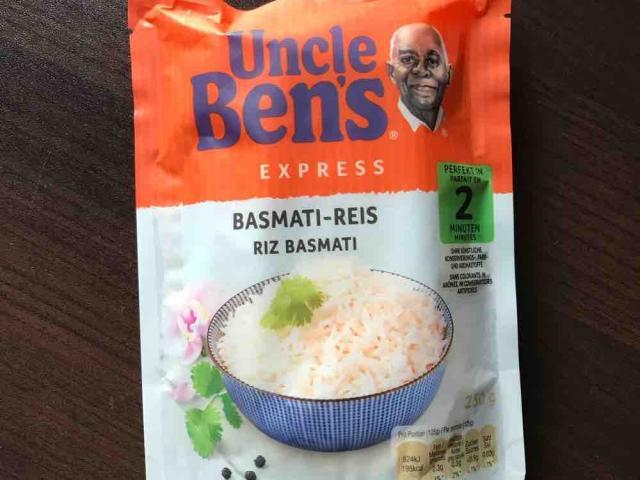 Uncle Ben?s Express, Basmati-Reis von marenha | Hochgeladen von: marenha