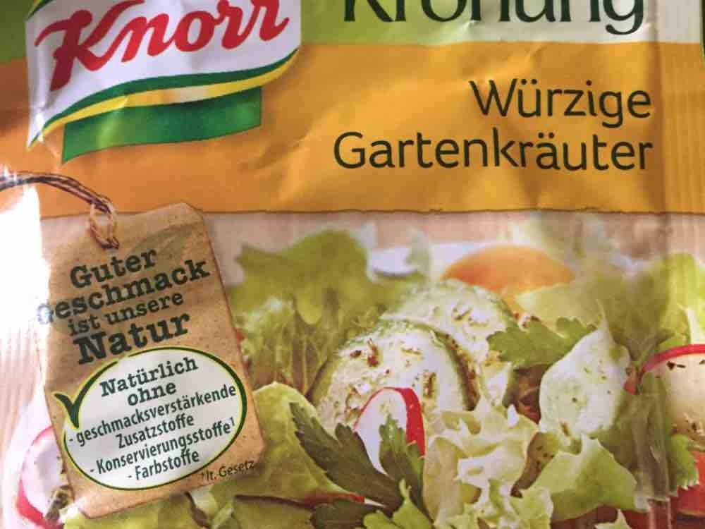 Knorr Salat Krönung Würzige Gartenkräuter Kalorien Saucen